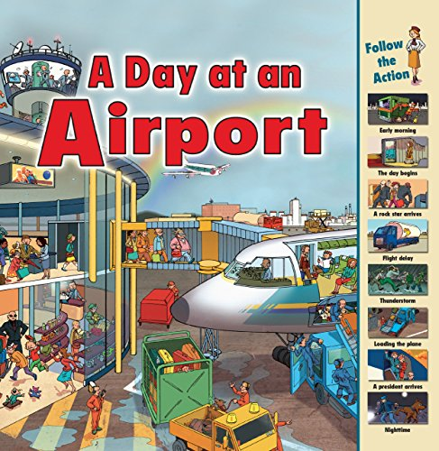9781580138017: A Day at an Airport (Time Goes by)