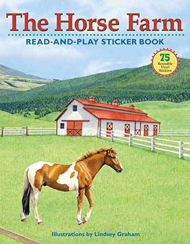 817d21c653e1 The Horse Farm Read-and-Play Sticker Book (Read-And-Play