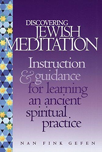 Discovering Jewish Meditation: Instruction & Guidance for: Gefen, Nan Fink