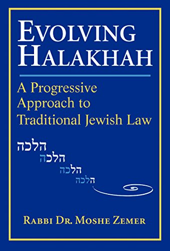 9781580231275: Evolving Halakhah: A Progressive Approach to Traditional Jewish Law