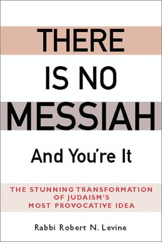 9781580231732: There Is No Messiah―and You're It: The Stunning Transformation of Judaism's Most Provocative Idea