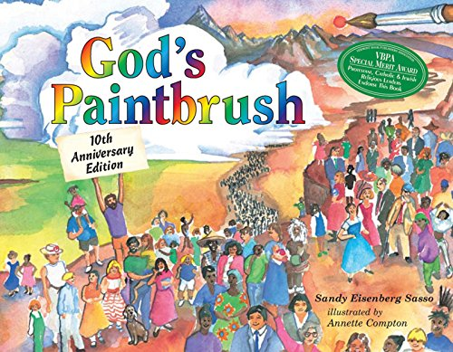God's Paintbrush: Tenth Anniversary Edition: Sasso, Rabbi Sandy