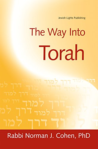 The Way Into Torah (1580231985) by Dr. Norman J. Cohen