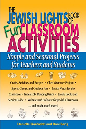 9781580232067: The Jewish Lights Book of Fun Classroom Activities: Simple and Seasonal Projects for Teachers and Students