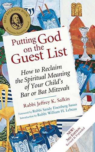 9781580232609: Putting God on the Guest List, Third Edition: How to Reclaim the Spiritual Meaning of Your Child's Bar or Bat Mitzvah