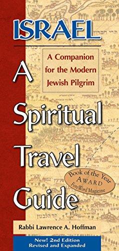 9781580232616: Israel: A Spiritual Travel Guide: A Companion For The Modern Jewish Pilgrim