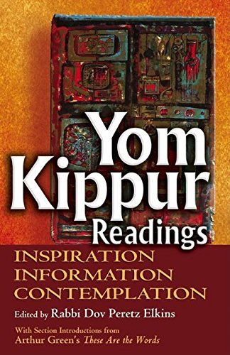 9781580232715: Yom Kippur Readings: Inspiration, Information and Contemplation
