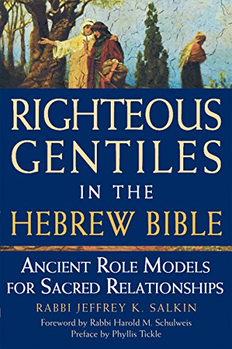 9781580233644: Righteous Gentiles in the Hebrew Bible: Ancient Role Models for Sacred Relationships