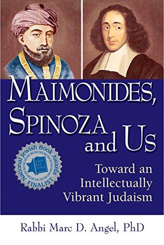 9781580234115: Maimonides, Spinoza and Us: Toward an Intellectually Vibrant Judaism