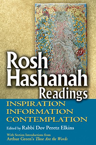 9781580234375: Rosh Hashanah Readings: Inspiration, Information and Contemplation