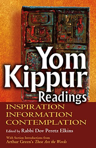 9781580234382: Yom Kippur Readings: Inspiration, Information and Contemplation