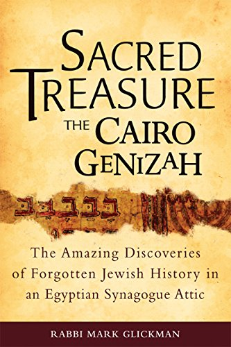 9781580235129: Sacred Treasure - The Cairo Genizah: The Amazing Discoveries of Forgotten Jewish History in an Egyptian Synagogue Attic