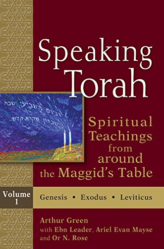 9781580236683: Speaking Torah, : Spiritual Teachings from around the Maggid's Table, Vol. 1