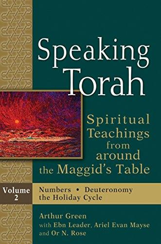 9781580236942: Speaking Torah, : Spiritual Teachings from around the Maggid's Table, Vol. 2
