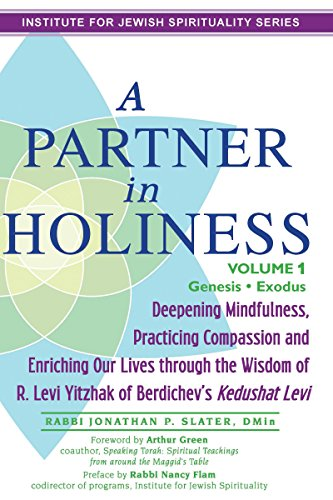 9781580237949: A Partner in Holiness Vol 1: Deepening Mindfulness, Practicing Compassion and Enriching Our Lives through the Wisdom of R. Levi Yitzhak of Berdichev's Kedushat Levi