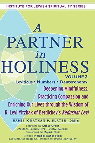 9781580237956: A Partner in Holiness: Deepening Mindfulness, Practicing Compassion and Enriching Our Lives Through the Wisdom of R. Levi Yitzhak of Berdichev's, Vol. 2 (Institute for Jewish Spirituality)