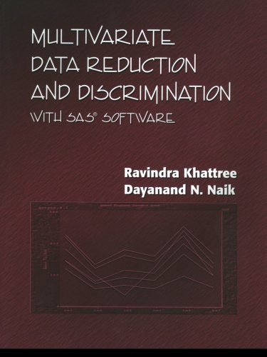 9781580256964: Multivariate Data Reduction and Discrimination with SAS Software