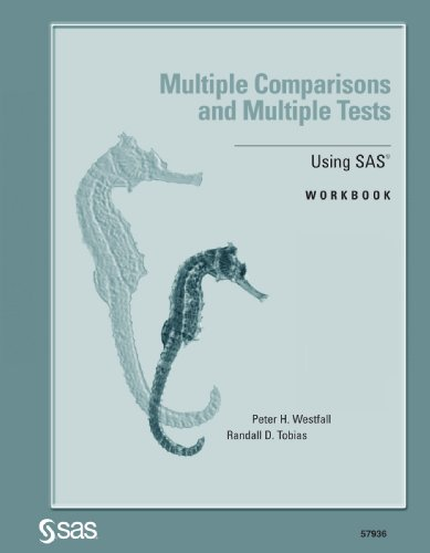 9781580257596: Multiple Comparisons and Multiple Tests Using SAS: Workbook