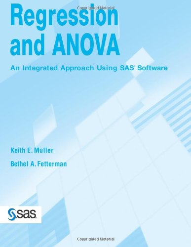 9781580258906: Regression and ANOVA: An Integrated Approach Using SAS Software