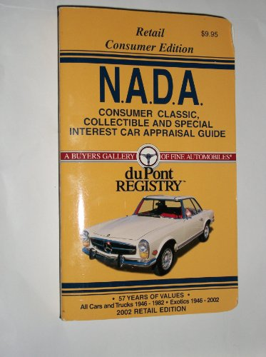 9781580330350: NADA Consumer Classic Car Appraisal Guide 2002 (NADA Classic, Collectible & Special Interest Car Apprailsal Guide: Consumer Edition)