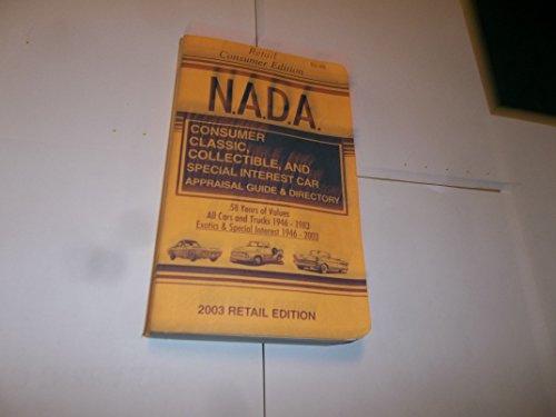 9781580330442: NADA Consumer Classic Car Guide: 1946-2003