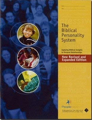 9781580340014: The Biblical Personality System