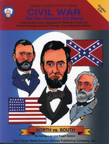 9781580370073: Civil War: The War Between the States (Social Studies Activity Book)