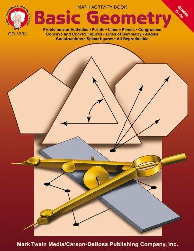 Basic Geometry, Grades 5 - 8: Mark Twain Media
