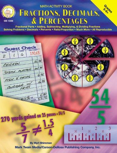 9781580371063: Fractions, Decimals, & Percentages, Grades 5 - 8