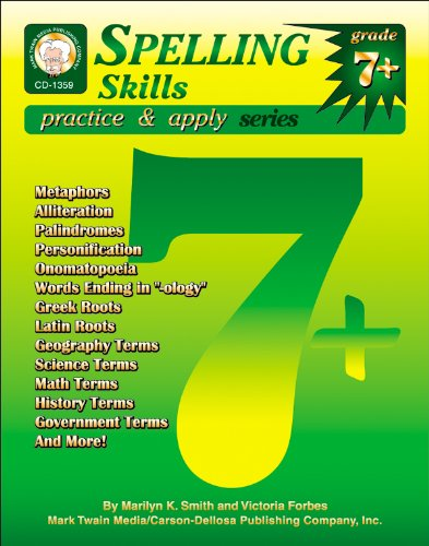 NEW Spelling Skills, Grades 7 - 8: Smith, Marilyn K.;