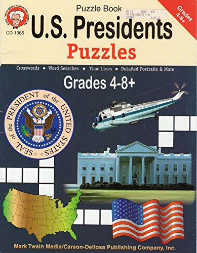 U.S. Presidents Puzzles: Mark Twain Media