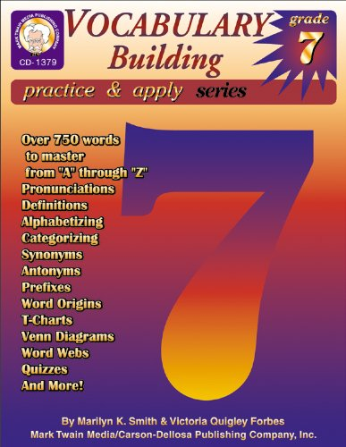Vocabulary Building: Marilyn K. Smith;