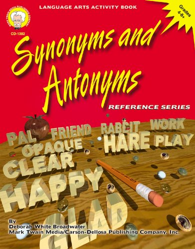 9781580371612: Synonyms and Antonyms, Grades 4 - 8