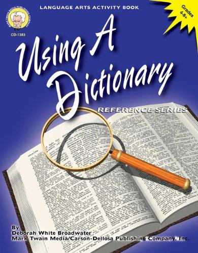9781580371629: Using a Dictionary, Grades 4 - 8