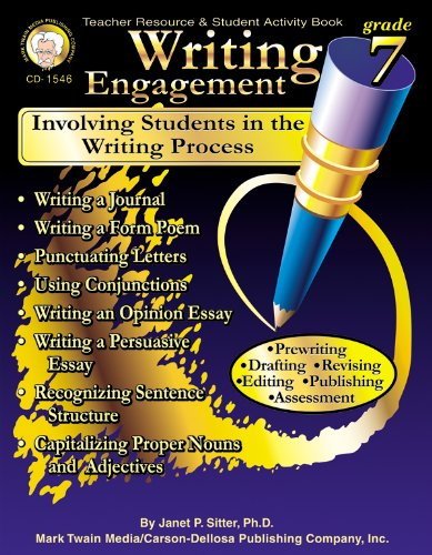 9781580372008: Writing Engagement, Grade 7: Involving Students in the Writing Process