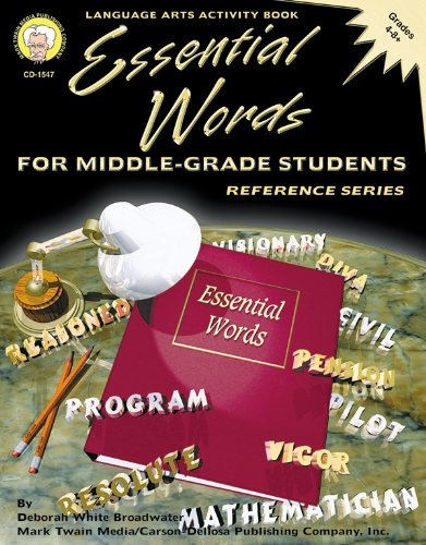9781580372015: Essential Words for Middle-Grade Students, Grades 4 - 8