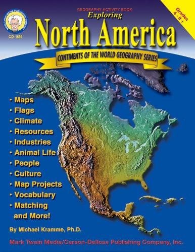 9781580372237 Exploring North America Grades 4 8 Continents