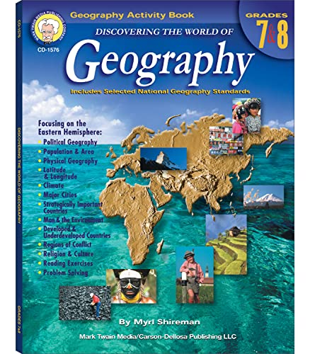 9781580372305: Discovering the World of Geography, Grades 7 - 8: Includes Selected National Geography Standards