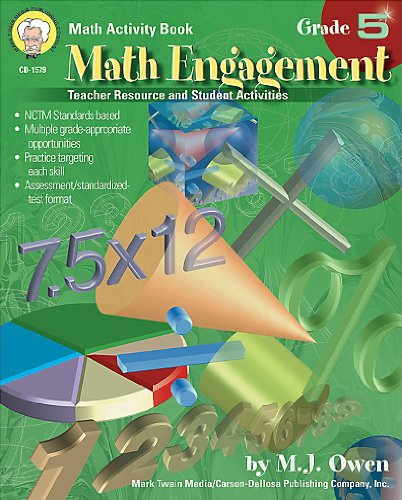9781580372336: Math Engagement, Grade 5: Teacher Resource and Student Activities