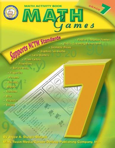 9781580372763: Math Games, Grade 7