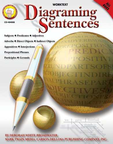 Diagraming Sentences (Paperback): Deborah White Broadwater
