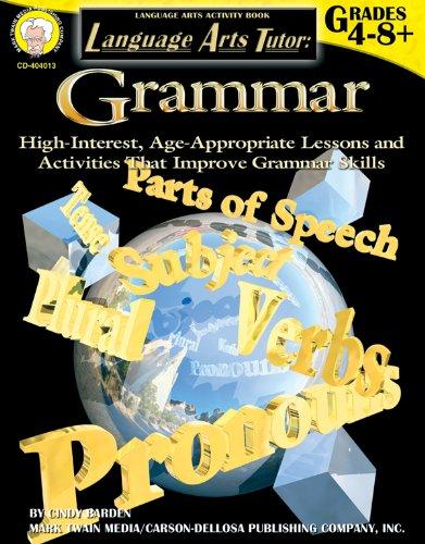 Language Arts Tutor: Grammar, Grades 4 - 12 (Tutor Series): Barden, Cindy