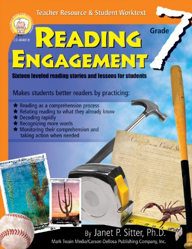 9781580372916: Reading Engagement, Grade 7