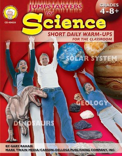 Jumpstarters for Science, Grades 4 - 8+: Mark Twain Media