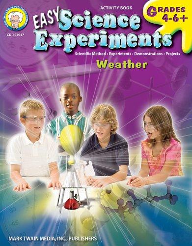 Easy Science Experiments, Grades 4 - 8: Mark Twain Media