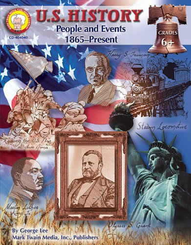 9781580373371: U.S. History, Grades 6 - 8: People and Events: 1865-Present (American History Series)