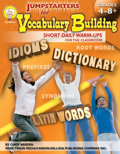 9781580373869: Jumpstarters for Vocabulary Building, Grades 4 - 8: Short Daily Warm-Ups for the Classroom
