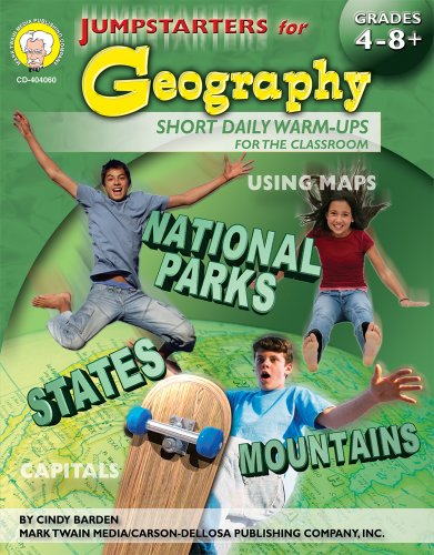 9781580374019: Jumpstarters for Geography, Grades 4 - 8