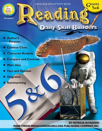 9781580374132: Reading, Grades 5 - 6 (Daily Skill Builders)