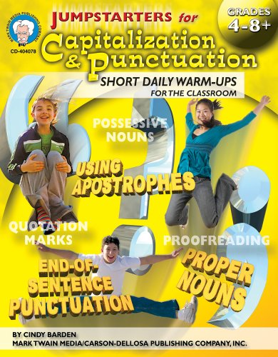 9781580374316: Jumpstarters for Capitalization & Punctuation, Grades 4 - 12
